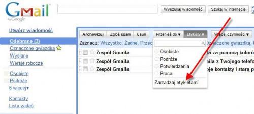 Konto pocztowe Gmail