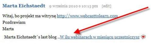Jak zwiększyć oglądalnosć bloga - CommentLuv