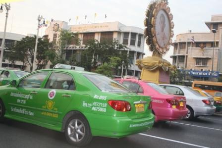 Taksówki w Bangkoku