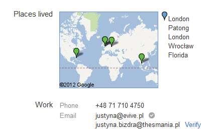 Weryfikacja adresu email w Google +1