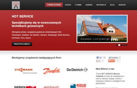 Budowa bloga połączonego ze stroną Hotservice.pl