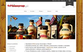 Sklep internetowy Biosyrop.pl