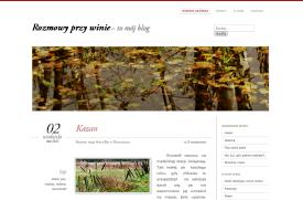 Budowa bloga Rozmowyprzywinie.pl