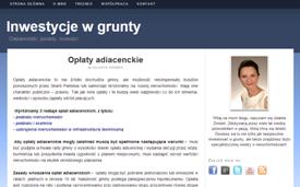 Budowa bloga Inwestycjewgrunty.pl