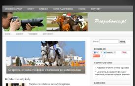 Jak zrobić bloga: pasjakonie.pl