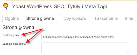 Optymalizacja strony: Meta tytuł i Meta Opis