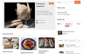 Wykonanie bloga kuchnianaobcasach.pl